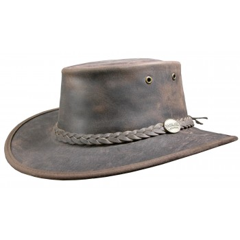 Chapeau Bronco marron -...
