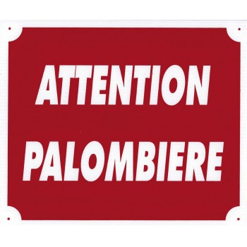 "Panneau ""Attention..."